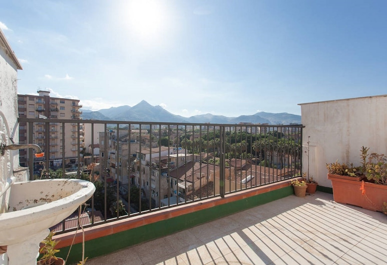 Casa Bastet, Palerme, Appartement, 2 chambres, Terrasse/Patio