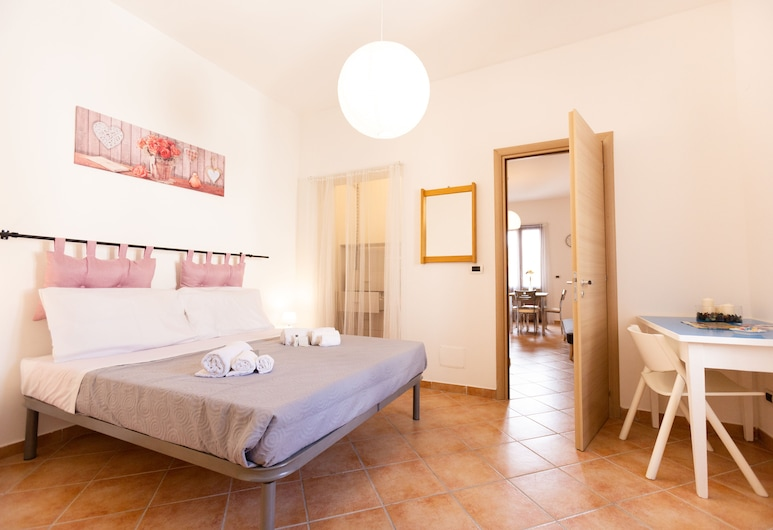 Kalsa Sunny Flat, Palerme, Appartement, 1 chambre, Chambre