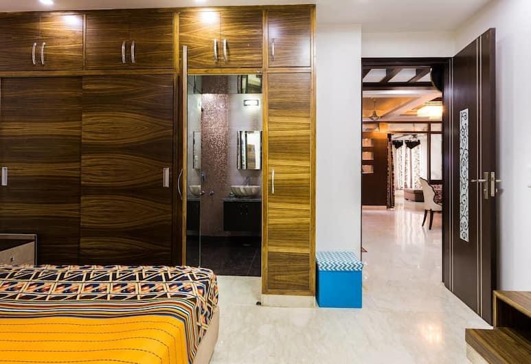 The Penthouse Delhi, Nuova Delhi, Appartamento Premium, Letti multipli, accessibile ai disabili, vista città, Vista dalla camera