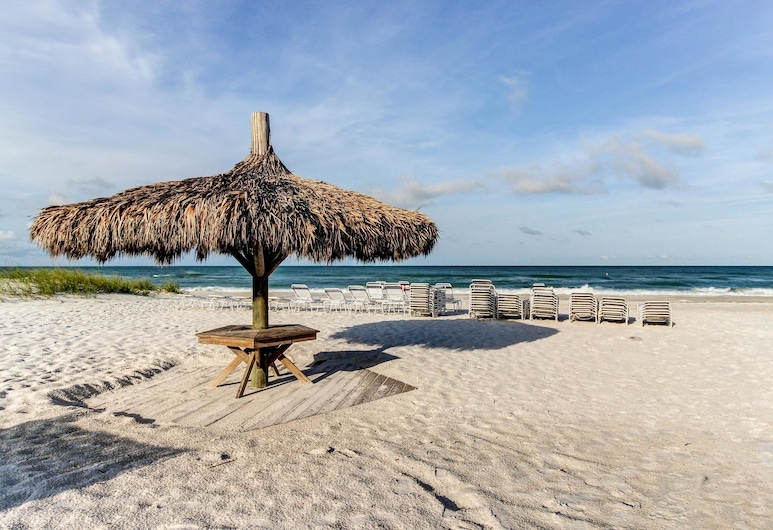Island Beach Club Condos, הולמס ביץ', דירה, 2 חדרי שינה, בריכה פרטית (The Terrace 4), חוף ים