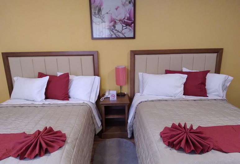 Hotel J&E by Serranillo, Mineral del Monte, Standard Room, 2 Katil Ratu (Queen), Non Smoking, Bilik Tamu