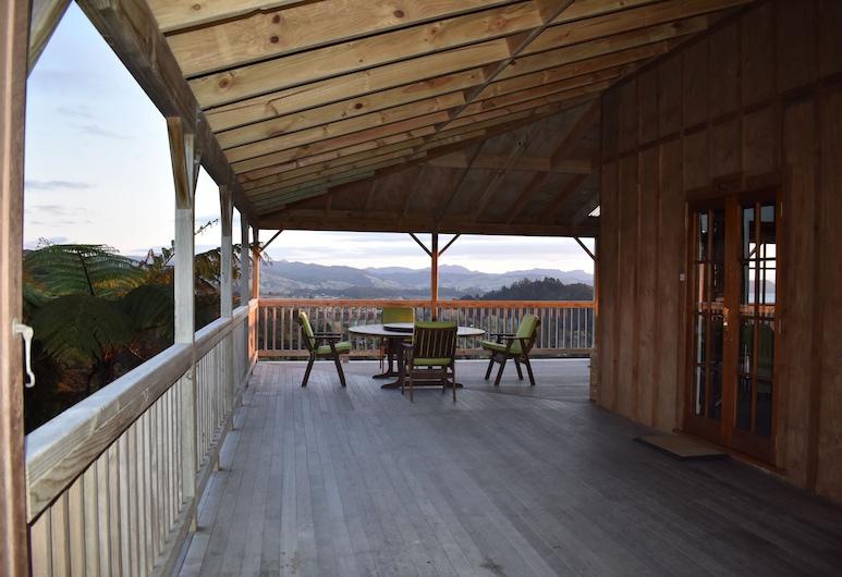 Atea Lodge, Coromandel, Ristorazione all'aperto