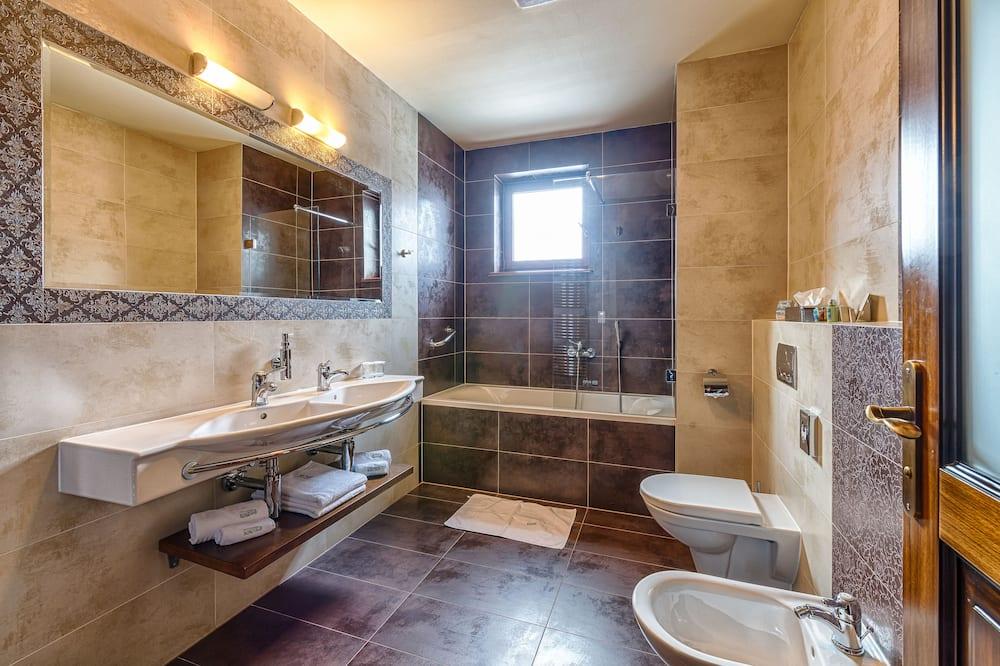 Luksus-værelse (LUX) - Badeværelse