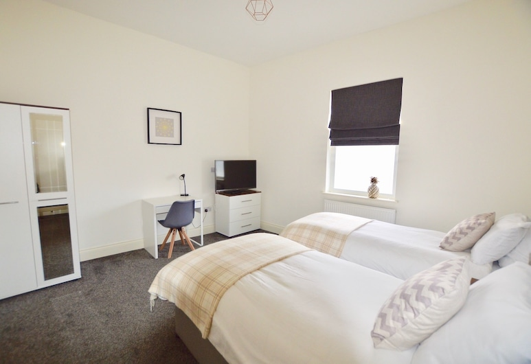 33 Friar Lane Chambers, Leicester, Deluxe Double or Twin Room, Private Bathroom, Guest Room