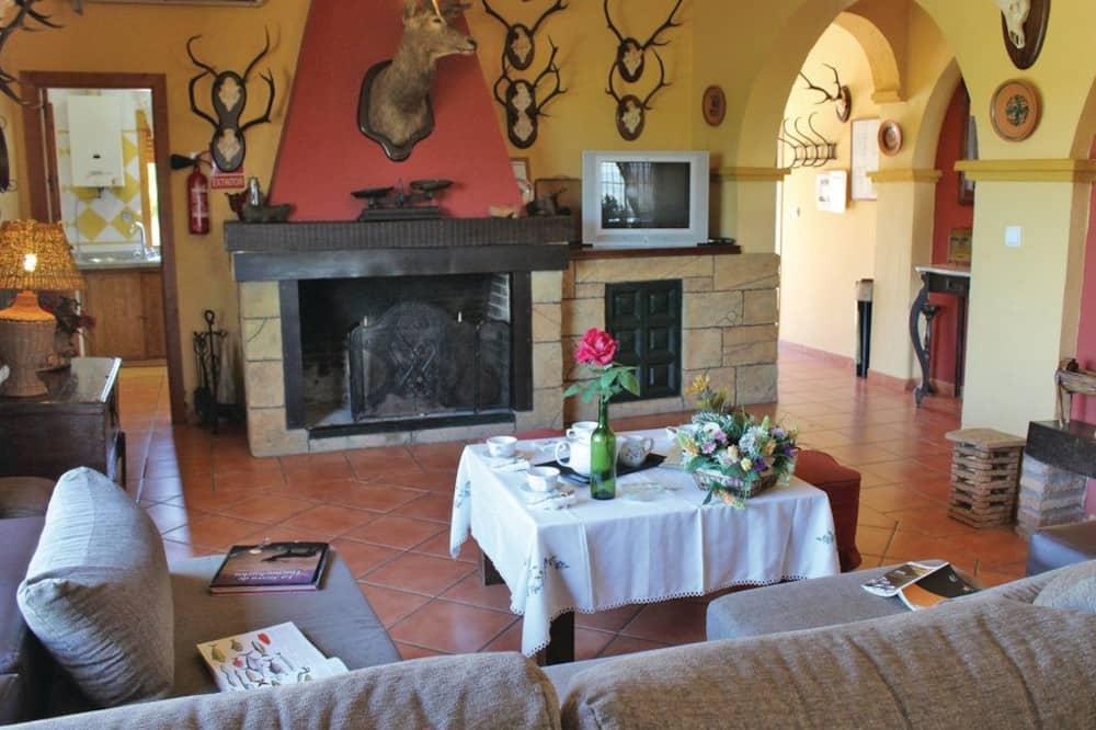 Коттедж, 3 спальни (El Mirador) - Зона гостиной