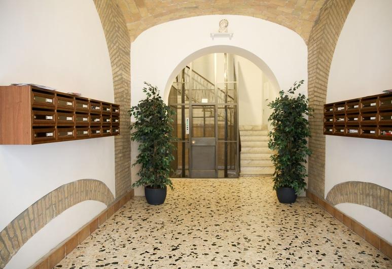 Vatican Comfort Suites, Řím, Průčelí hotelu