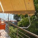 Panoramic-Apartment, Mehrere Schlafzimmer - Blick vom Balkon
