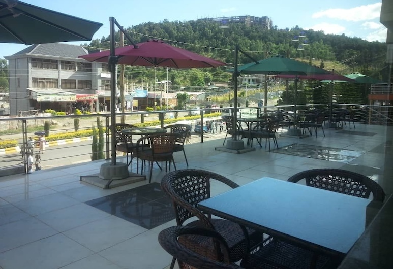 Gondar Plaza Hotel, Gondar, Terrasse/Patio