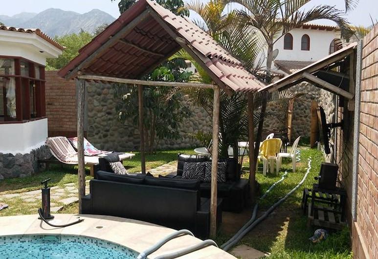Las Cascadas, Cieneguilla, Bungalow, 2 slaapkamers, privézwembad (3 Baths), Terras