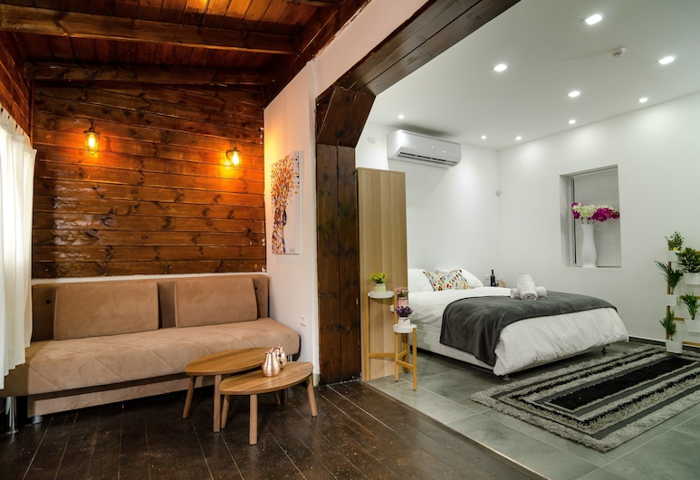 kinneret lodging, Tiberias, Rodinný apartmán, nefajčiarska izba, Izba