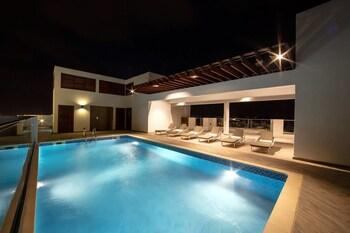 Foto van Luxury studio apartment at the Gallery in Accra
