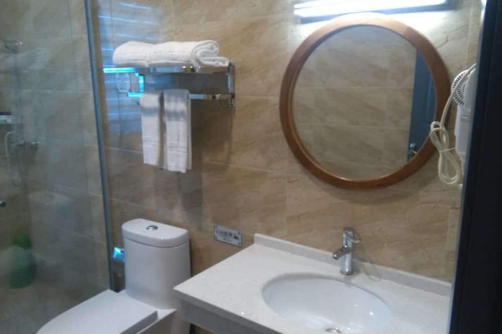 Design-dobbeltværelse - Faciliteter på badeværelset