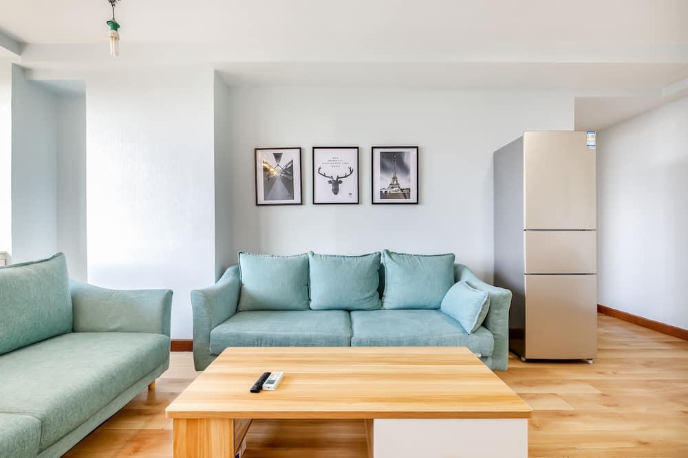 Three-Bedroom Apartment - Living Area