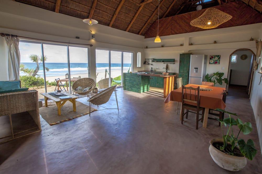 Family Villa, Beach View - Living Area