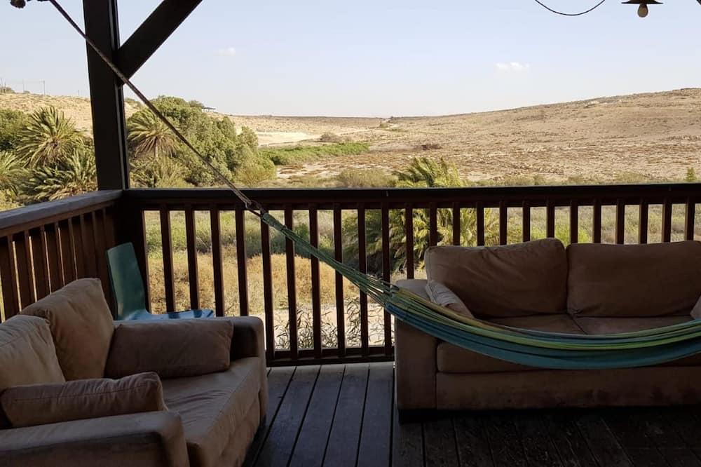 Basic-Ferienhütte, Nichtraucher - Balkon
