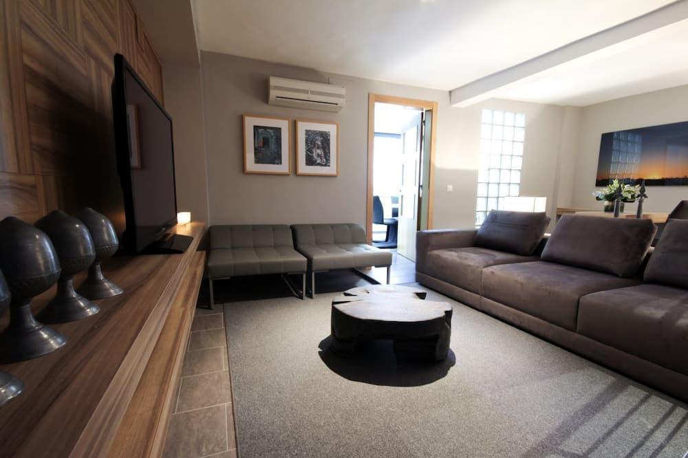 Apartmán, 5 spální - Obývacie priestory
