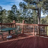 Cabin, Multiple Beds, Patio, Mountain View - Balcony