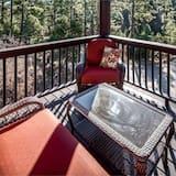 Domek wypoczynkowy, Wiele łóżek, jacuzzi, widok na góry - Balkon