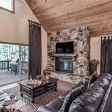 Pokoj, více lůžek, vířivka, výhled na hory - Obývací pokoj