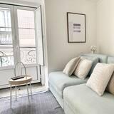 Lägenhet Standard - 1 sovrum - Vardagsrum