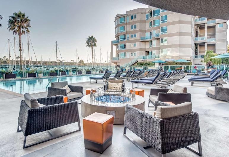 Waterfront Suites At Marina Del Rey, Marina del Rey, Sundeck