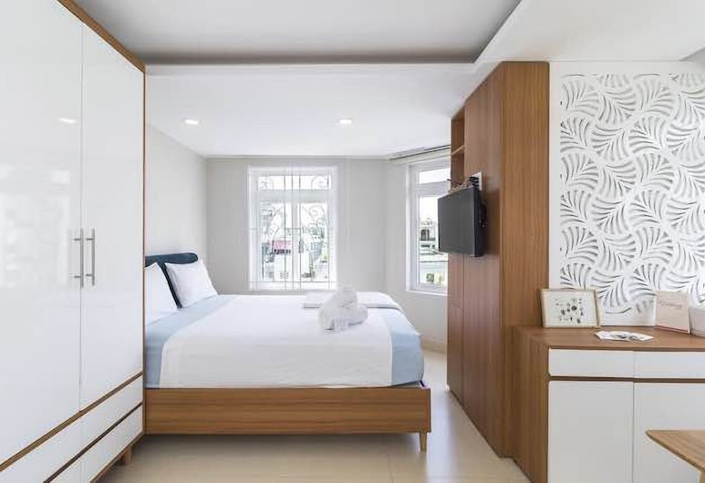 Evergreen Saigon Hotel & Apartment, Ho Chi Minh City, Luxusní apartmán, dvojlůžko (200 cm), kuřácký, Pokoj