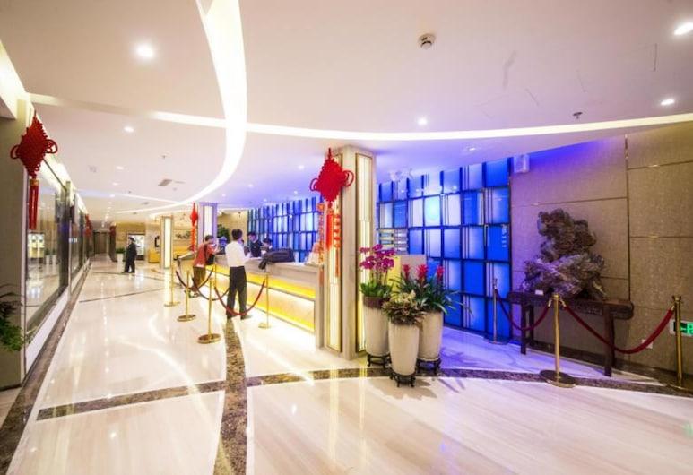 Golden Central Hotel Shenzhen, Šendženas, Vestibiulis