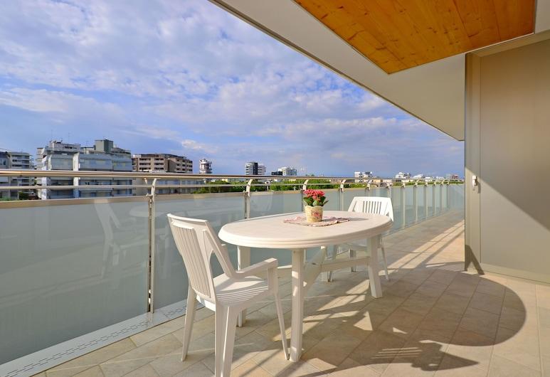 馬雷公寓酒店, 利加諾黃金沙灘, 頂層客房, 3 間臥室, 露台 (CX8), 陽台