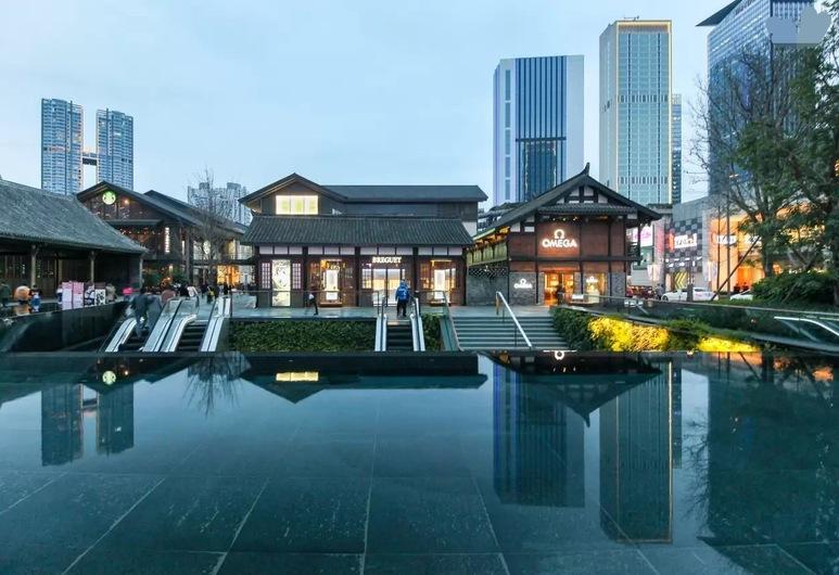 Chengdu Skyline International Apartment, Chengdu, Exterior