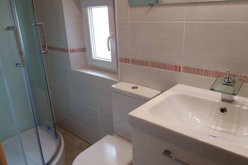 Двухместный номер «Комфорт» с 1 двуспальной кроватью, вид на сад - Ванная комната