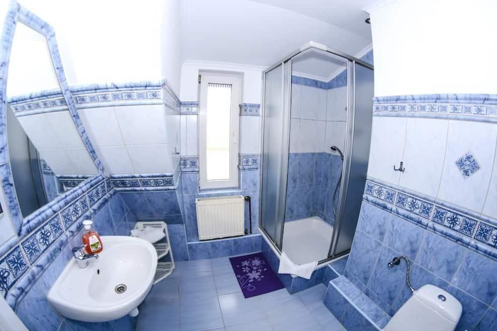 Kambarys (1 dvigulė / 2 viengulės lovos), 2 viengulės lovos, Nerūkantiesiems - Vonios kambarys