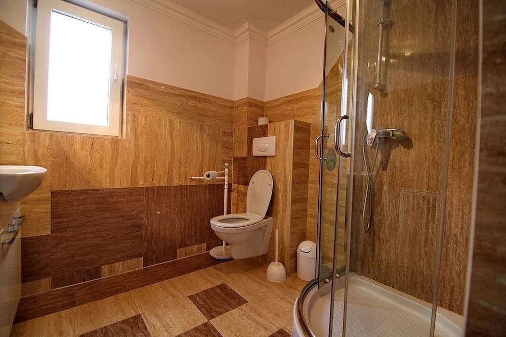 Trivietis kambarys, 3 viengulės lovos, Nerūkantiesiems - Vonios kambarys
