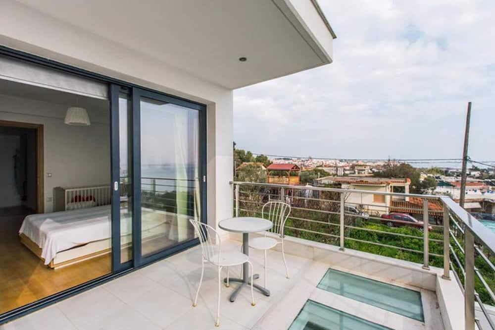 Villa, 5 camere da letto, vista mare - Balcone