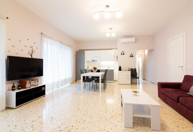 索倫托之家酒店, 聖亞尼雅羅, 高級公寓, 露台, 客廳
