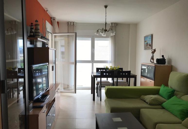 Apartamento Las Arenas - 113B, Cambrils, Apartamentai, 2 miegamieji, Svetainė