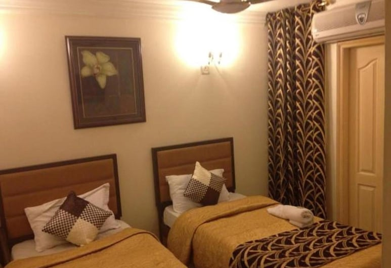 Hotel Eurostar International, New Delhi, Deluxe Room, 1 Double or 2 Single Beds, Non Smoking, Guest Room