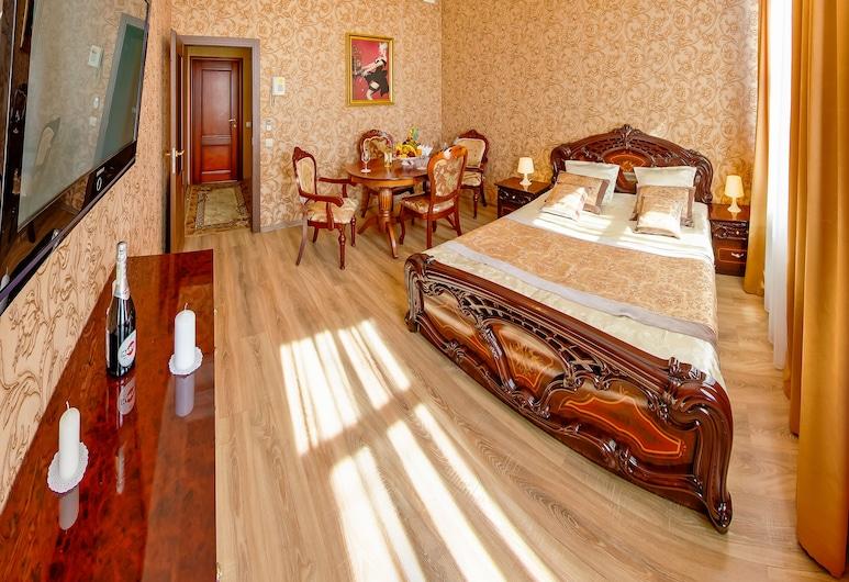Hotel Golden Palace, San Pietroburgo, Doppia Deluxe, 1 letto queen, non fumatori, Camera