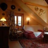 Dvokrevetna soba, 1 bračni krevet, za nepušače (Perse) - Dnevna soba