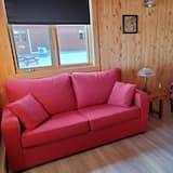 Chalet Confort, 1 cama doble con sofá cama (n°1) - Sala de estar