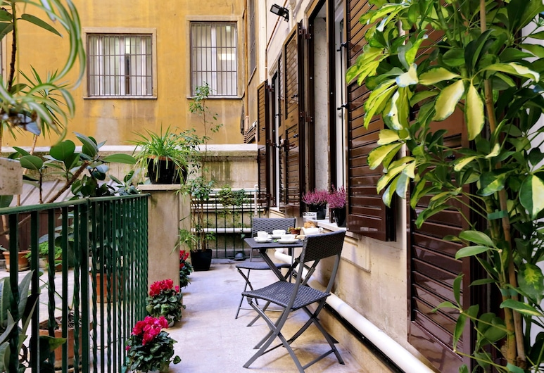 Merulana 13 - Exclusive Rooms, Rome, Junior Suite, Balcony
