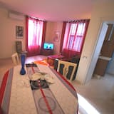 Deluxe appartement, 2 slaapkamers - Woonruimte
