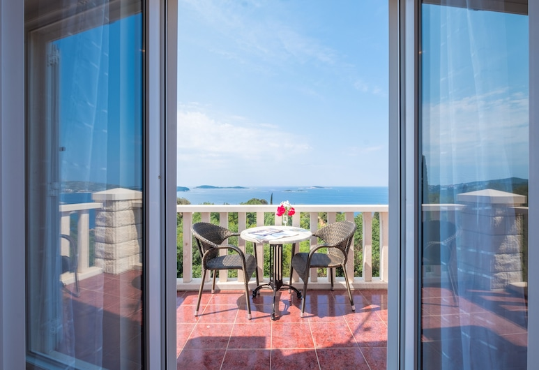 Villa Panorama, Zupa dubrovacka, Premium Apartment, Terrace, Sea View, Balcony