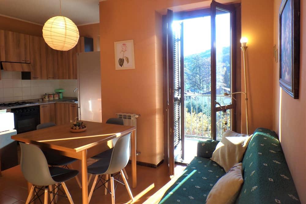 Apartman, 2 spavaće sobe, pogled na jezero - Dnevni boravak