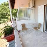 Habitación con 2 camas individuales, vistas a la montaña - Balcón