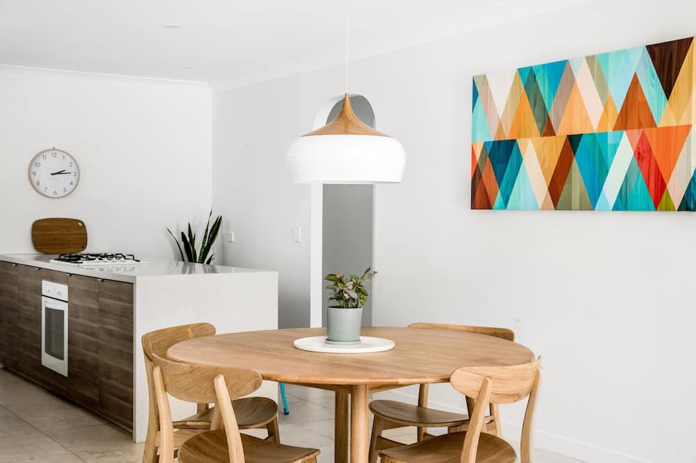 Villa Confort, 3 habitaciones, para no fumadores, vista al patio - Cocina compartida