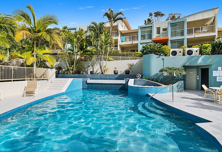 Sea Breeze Unit 10 Resort at 7 Park Lane, Lennox Head, Outdoor Pool