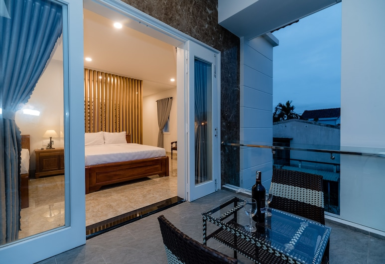 Chi Thanh Villa, Hoi An, Deluxe Twin Room, Balcony View