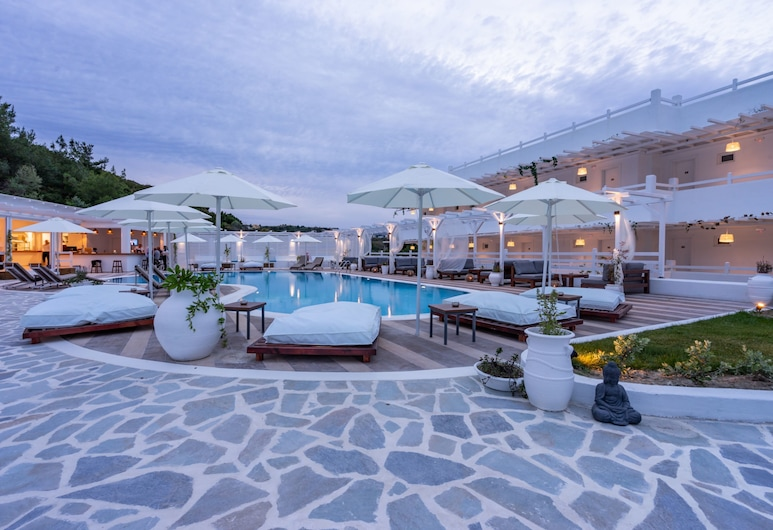 Aloe Hotel – Adults Only, Rodos, Bazén