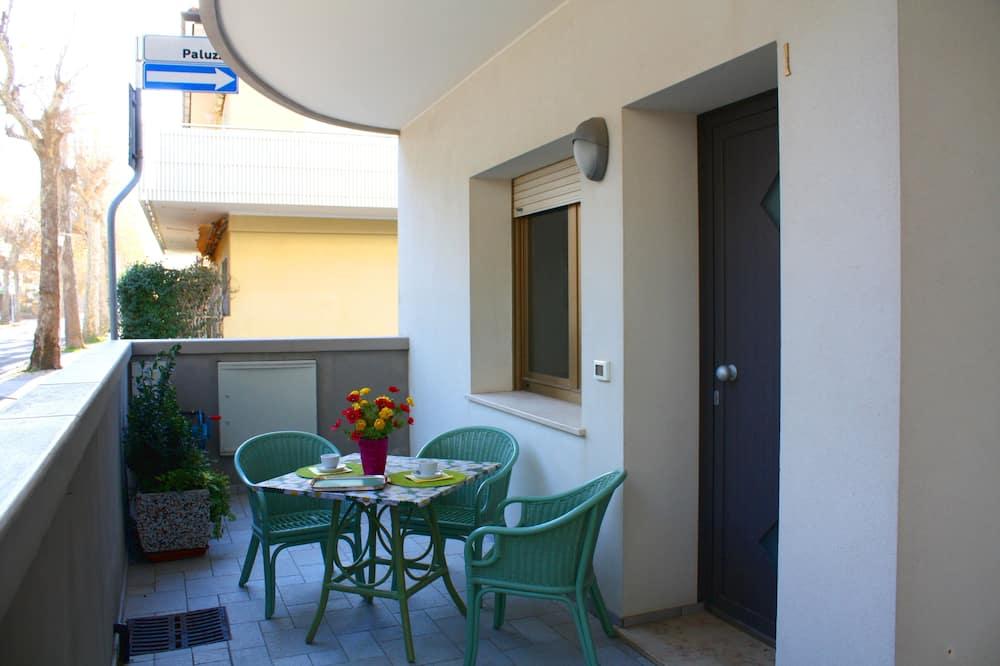 Apartamentai, 1 miegamasis (B) - Balkonas