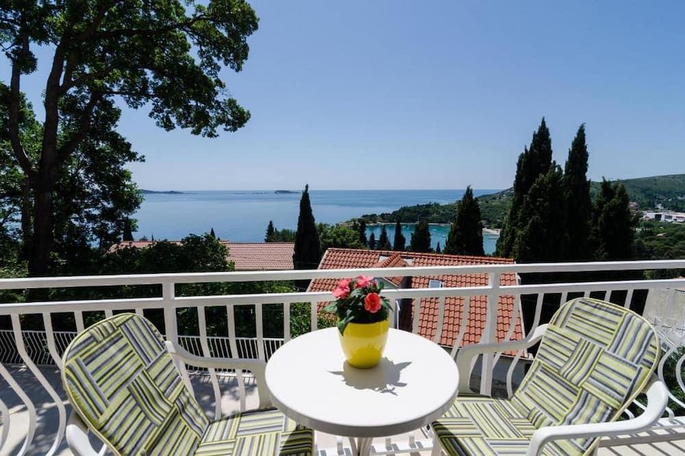 Comfort Apartment, 1 Bedroom, Balcony, Sea View - Room